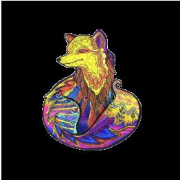 jigsaw mystery fox legpuzzel